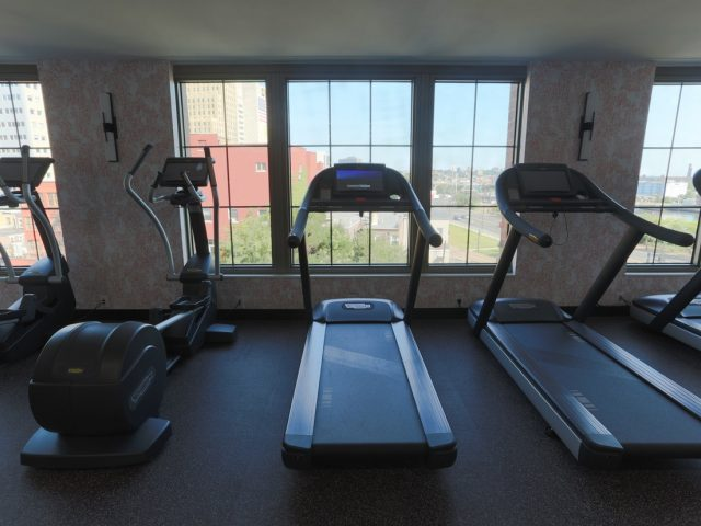 50 rector park brand new waterfront rentals newark nj fitness center 1